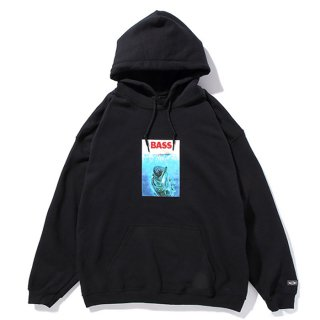<img class='new_mark_img1' src='https://img.shop-pro.jp/img/new/icons8.gif' style='border:none;display:inline;margin:0px;padding:0px;width:auto;' />CHALLENGER/BASS BITE HOODIE/ブラック