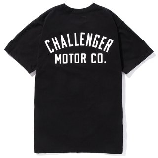 CHALLENGER/MOTOR CO. TEE/ブラック