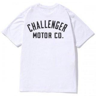 CHALLENGER/MOTOR CO. TEE/ホワイト
