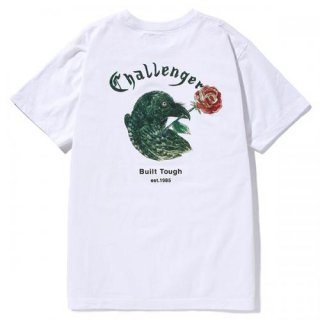 CHALLENGER/CROW&ROSE TEE