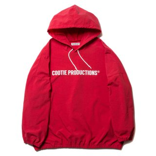 COOTIE/NYLON PULLOVER PARKA/レッド