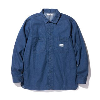 RADIALL/MONK-REGULAR COLLARED SHIRT L/S