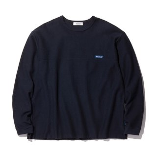 RADIALL/FLAGS-CREW NECK T-SHIRT L/S/ネイビー【40%OFF】<img class='new_mark_img2' src='https://img.shop-pro.jp/img/new/icons20.gif' style='border:none;display:inline;margin:0px;padding:0px;width:auto;' />