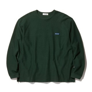 RADIALL/FLAGS-CREW NECK T-SHIRT L/S/フォレストグリーン