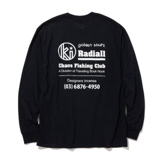 RADIALL/GOLDEN HOURS-CREW NECK T-SHIRT L/S/ブラック【40%OFF】<img class='new_mark_img2' src='https://img.shop-pro.jp/img/new/icons20.gif' style='border:none;display:inline;margin:0px;padding:0px;width:auto;' />