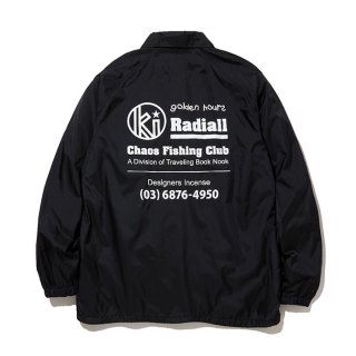 RADIALL/GOLDEN HOURS-WINDBREAKER JACKET/ブラック