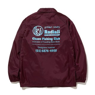 RADIALL/GOLDEN HOURS-WINDBREAKER JACKET/バーガンディー