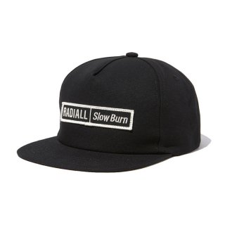 RADIALL/SLOW BURN-TRUCKER CAP/ブラック