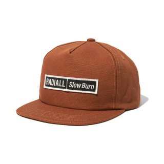 RADIALL/SLOW BURN-TRUCKER CAP/ウォルナット
