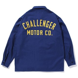 CHALLENGER/MOTOR CO. SHIRT/ネイビー
