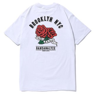 CHALLENGER/NYC ROSE TEE/ホワイト