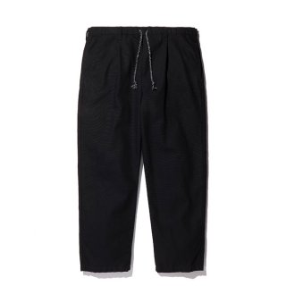 RADIALL/SUBURBAN-STRAIGHT FIT EASY PANTS/ブラック
