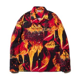 <img class='new_mark_img1' src='https://img.shop-pro.jp/img/new/icons8.gif' style='border:none;display:inline;margin:0px;padding:0px;width:auto;' />COOTIE/ERUPTION OPEN-NECK SHIRT