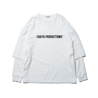 COOTIE/CELLIE L/S TEE(COOTIE LOGO)/ホワイト
