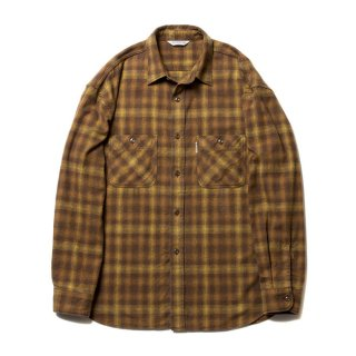 <img class='new_mark_img1' src='https://img.shop-pro.jp/img/new/icons8.gif' style='border:none;display:inline;margin:0px;padding:0px;width:auto;' />COOTIE/OMBRE CHECK SHIRT/マスタード
