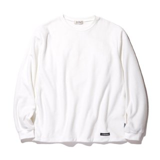 RADIALL/GRID-CREW NECK T-SHIRT L/S/ホワイト【20%OFF】<img class='new_mark_img2' src='https://img.shop-pro.jp/img/new/icons20.gif' style='border:none;display:inline;margin:0px;padding:0px;width:auto;' />