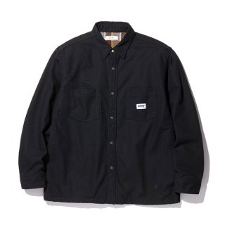 RADIALL/SUBURBAN-REGULAR COLLARED SHIRT L/S/ブラック