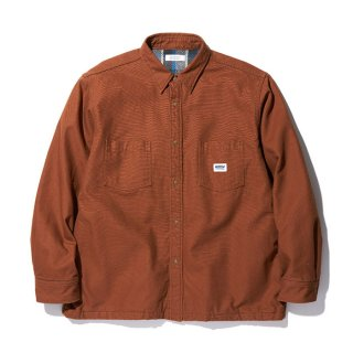 RADIALL/SUBURBAN-REGULAR COLLARED SHIRT L/S/ウォルナット