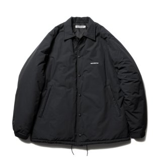COOTIE/NYLON PADDED COACH JACKET/ブラック