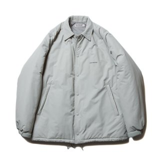 COOTIE/NYLON PADDED COACH JACKET/ライトグレー