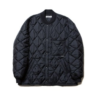 COOTIE/X WIDE CWU‐9 QUILTING JACKET/ブラック