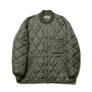 COOTIE/X WIDE CWU‐9 QUILTING JACKET/オリーブ