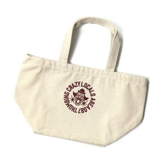 THUMBING/BROCK CIRCLE LUNCHBAG/ナチュラル/送料無料