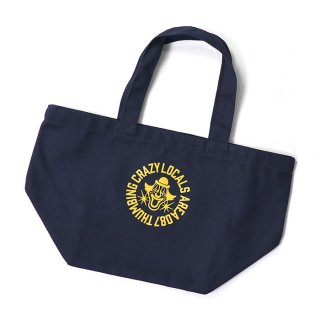 THUMBING/BROCK CIRCLE LUNCHBAG/ネイビー