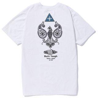 CHALLENGER/PAISLEY EAGLE TEE/ホワイト