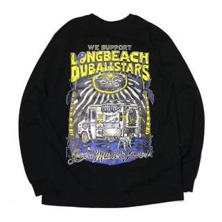 RADIALL/LONG BEACH C.N. T-SHIRT L/S/ブラック