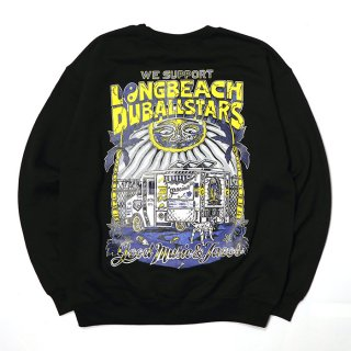 RADIALL/LONG BEACH C.N. SWEATSHIRT L/S/ブラック