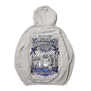 <img class='new_mark_img1' src='https://img.shop-pro.jp/img/new/icons8.gif' style='border:none;display:inline;margin:0px;padding:0px;width:auto;' />RADIALL/LONG BEACH HOODIESWEATSHIRT L/S/グレー