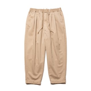 COOTIE/T/C 2 TUCK EASY PANTS/ベージュ