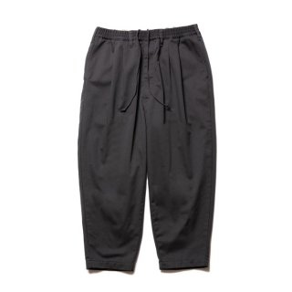 COOTIE/T/C 2 TUCK EASY PANTS/チャコール
