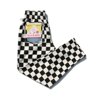 COOKMAN/CHEF PANTS/CHCKER/送料無料