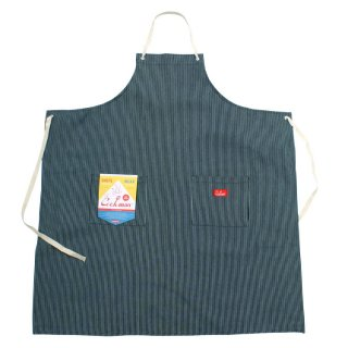 COOKMAN/LONG APRON/HICKORY