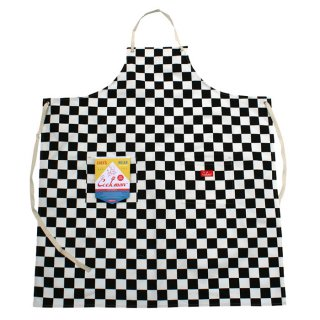 COOKMAN/LONG APRON/CHECKER