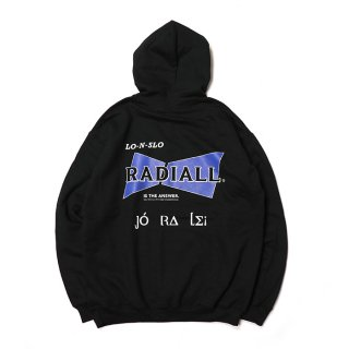 RADIALL/BOWTIE HOODIE-HOODIESWEATSHIRT L/S/ブラック【20%OFF】<img class='new_mark_img2' src='https://img.shop-pro.jp/img/new/icons20.gif' style='border:none;display:inline;margin:0px;padding:0px;width:auto;' />