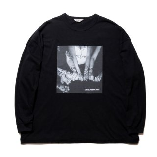 COOTIE/PRINT L/S TEE(CHOLA)/ブラック