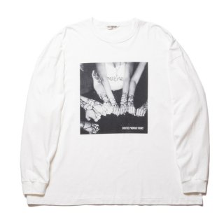 COOTIE/PRINT L/S TEE(CHOLA)/ホワイト