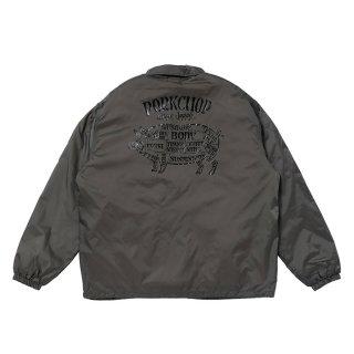 PORKCHOP/BOA COACH JKT/グレー