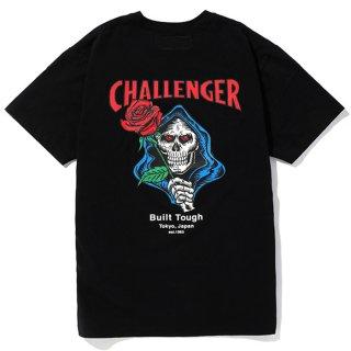 CHALLENGER/SPADE SKULL TEE/ブラック