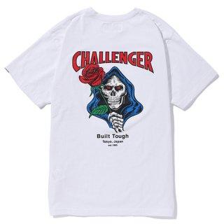CHALLENGER/SPADE SKULL TEE/ホワイト