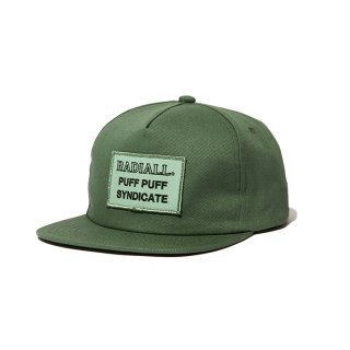 RADIALL/SYNDICATE-TRUCKER CAP/オリーブ