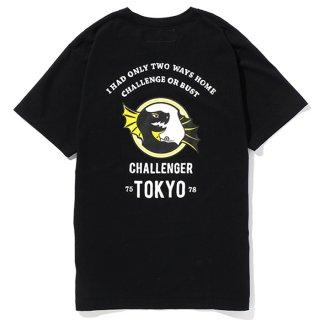 CHALLENGER/DRAGON TEE/ブラック