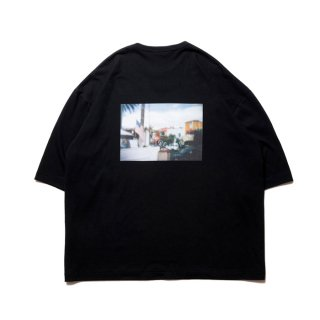 COOTIE/PRINT S/S TEE(BARRIO)/ブラック