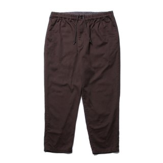 COOTIE/DRILL TAPERED EASY PANTS/ブラウン