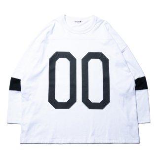COOTIE/HOCKEY L/S TEE/ホワイト
