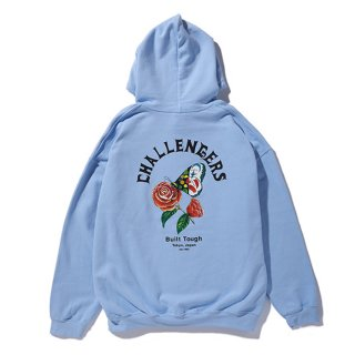 CHALLENGER/CHALLENGERS BUTTERFLY HOODIE/ライトブルー