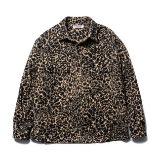 <img class='new_mark_img1' src='https://img.shop-pro.jp/img/new/icons8.gif' style='border:none;display:inline;margin:0px;padding:0px;width:auto;' />COOTIE/CORDUROY LEOPARD CPO JACKET
